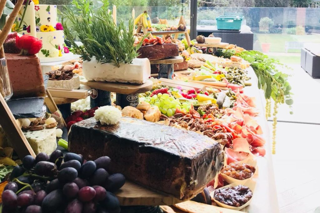 the home gourmet grazing table
